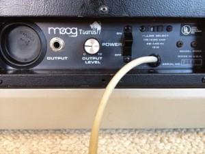 Moog Taurus Back Panel