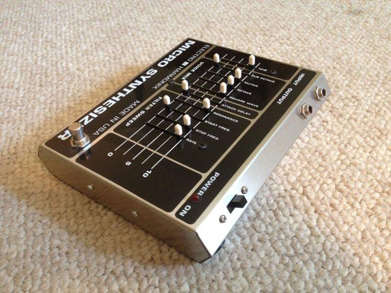 electro harmonix micro synthesizer amp axe. Black Bedroom Furniture Sets. Home Design Ideas